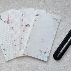Комплект бланков для записей с рисунками
