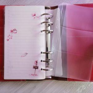 Файл для хранения визиток и карточек формата А6
