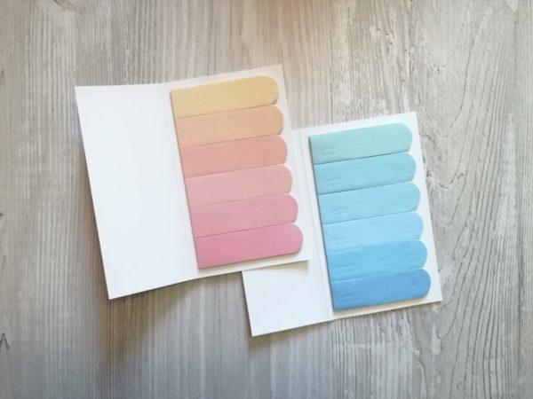 Клейкие закладки — разделители для ежедневника