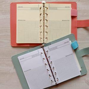 Сменные бланки для ежедневников формата А7 (12,5 см × 8,4 см)