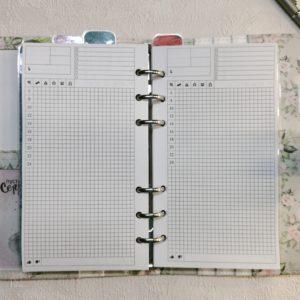 Сменные бланки для ежедневников формата А6 (17,1 см × 9,5 см)