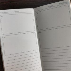 Тетрадь для ежедневника, план на день