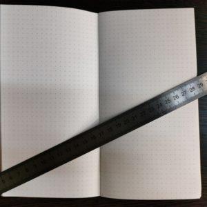 Тетрадь для ежедневника, листы в точку