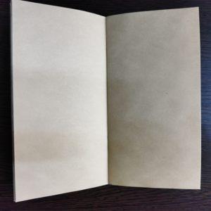 Тетрадь для дорожного ежедневника из крафт-бумаги