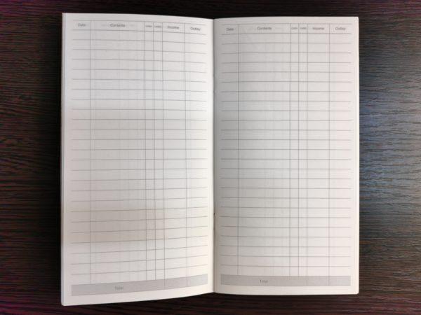 Тетрадь для ежедневника, планирование расходов